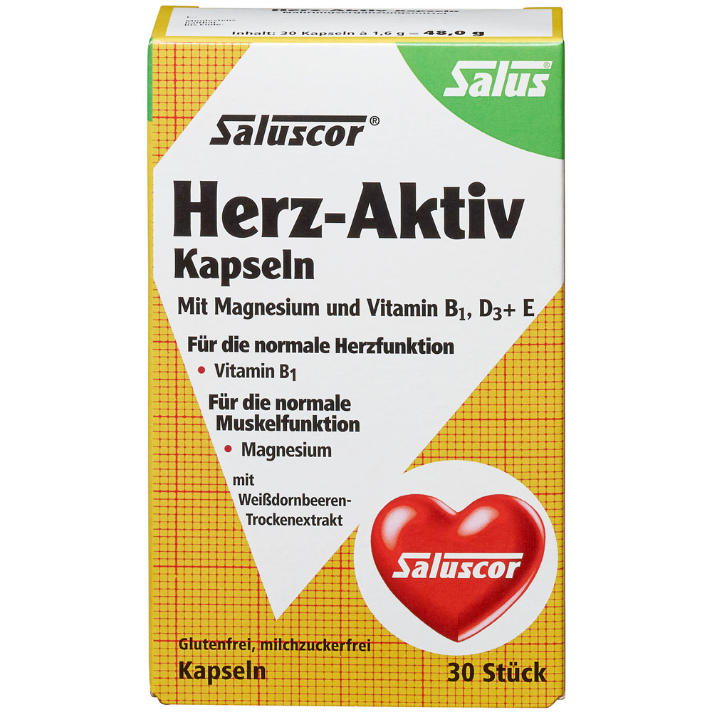 Salus® Saluscor® Herz Aktiv Kapseln - shop-apotheke.at