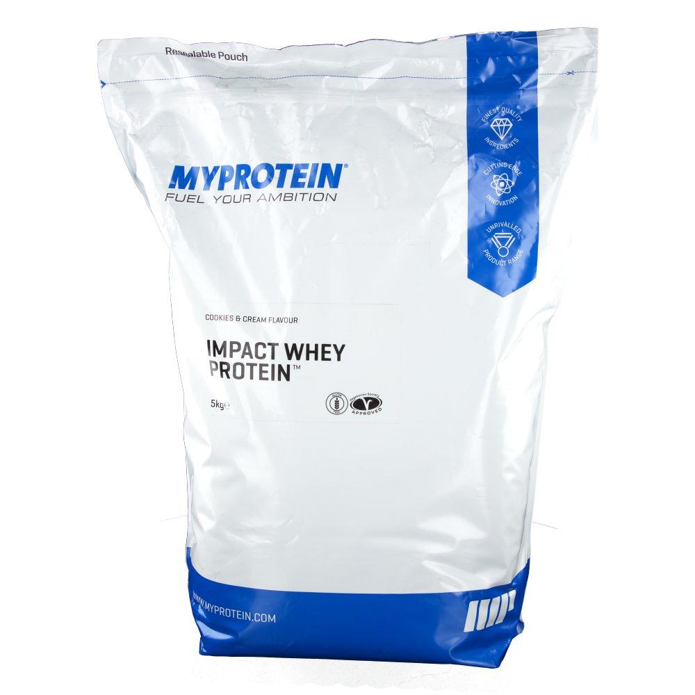 Myprotein The Hut Group: MyProtein Impact Whey Protein, Cookies-Cream, Pulver