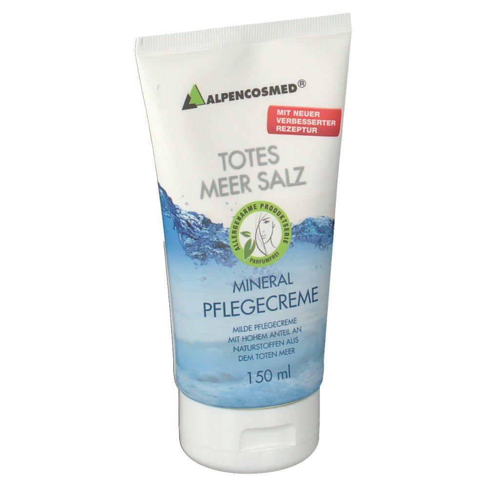 alpencosmed® totes meer salz pflegecreme ohne parabene  ~ Geschirrspülmaschine Ohne Salz