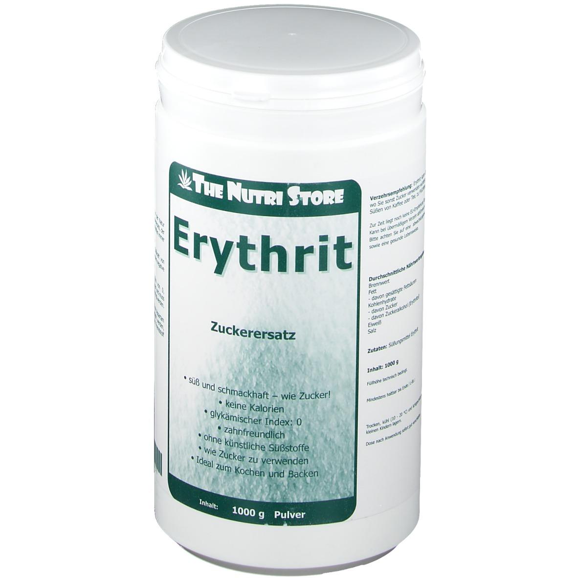 Erythrit Zuckerersatz