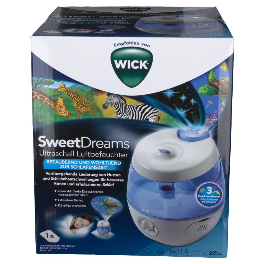 Wick Sweet Dreams 2-in-1 Ultraschall Luftbefeuchter PZN: 11562623
