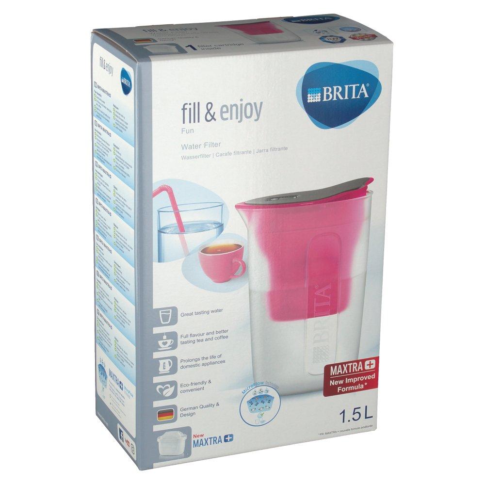 brita fill enjoy fun wasserfilter pink shop. Black Bedroom Furniture Sets. Home Design Ideas