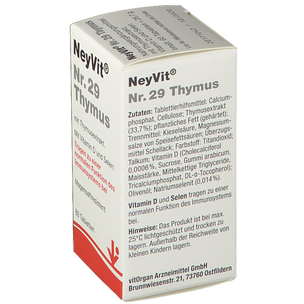 NeyVit® Nr. 29 Thymus - shop-apotheke.at