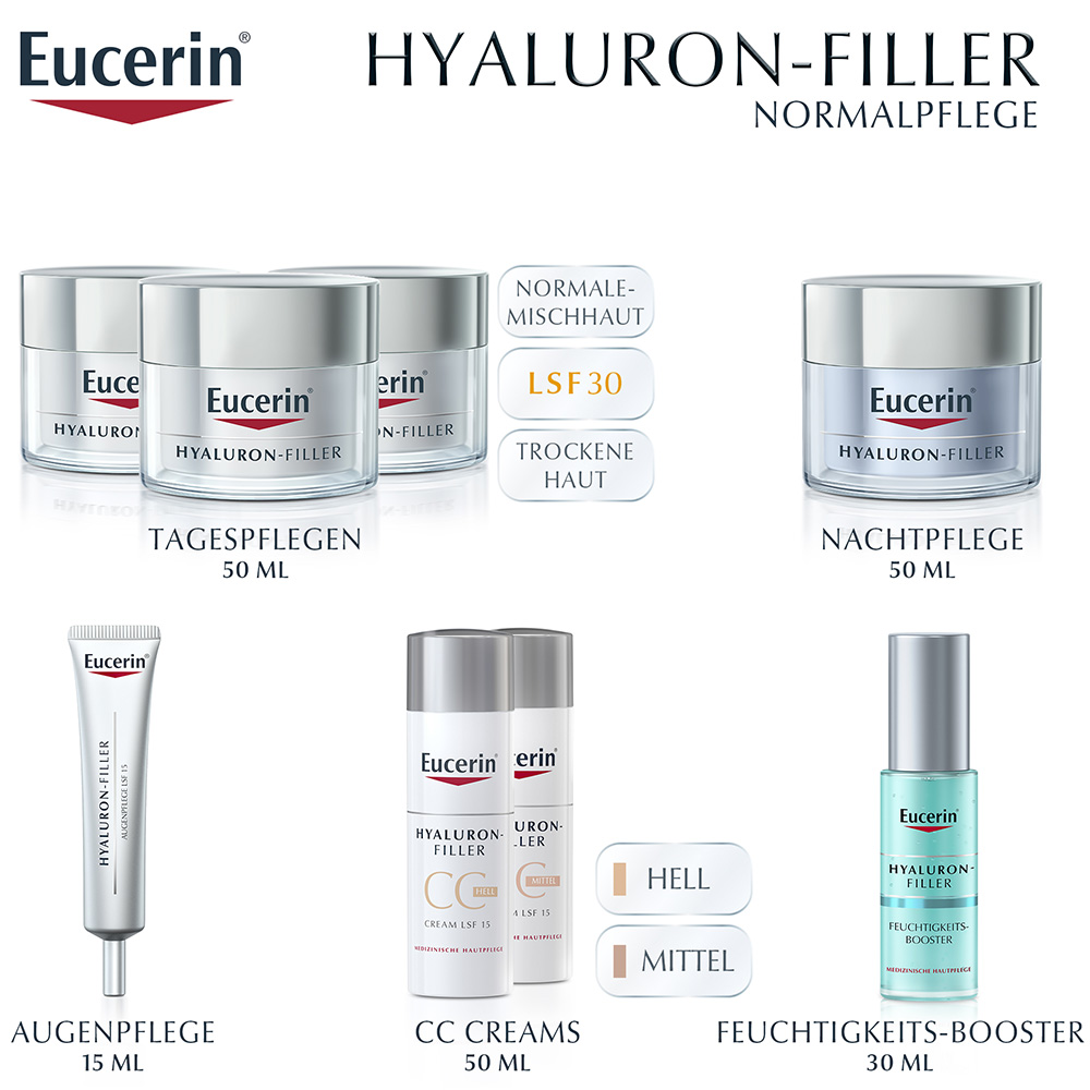 eucerin hyaluron filler tagespflege mit lsf 30 shop. Black Bedroom Furniture Sets. Home Design Ideas