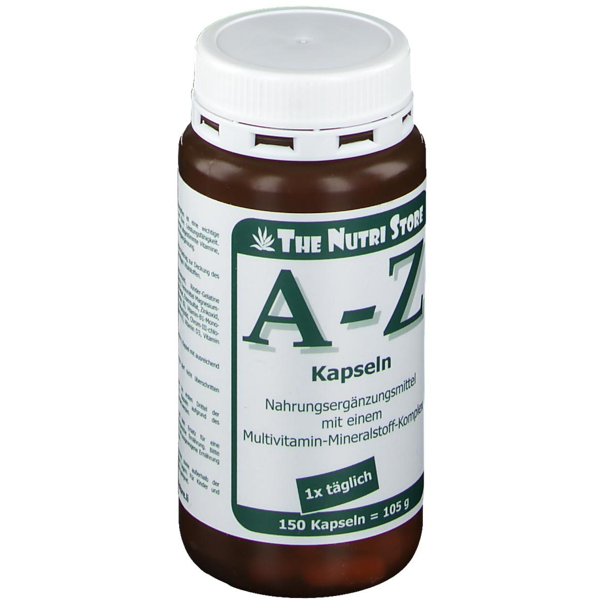 A-Z Multivitamin Mineralstoff Kapseln