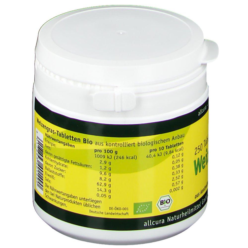 allcura Weizengras Tabletten