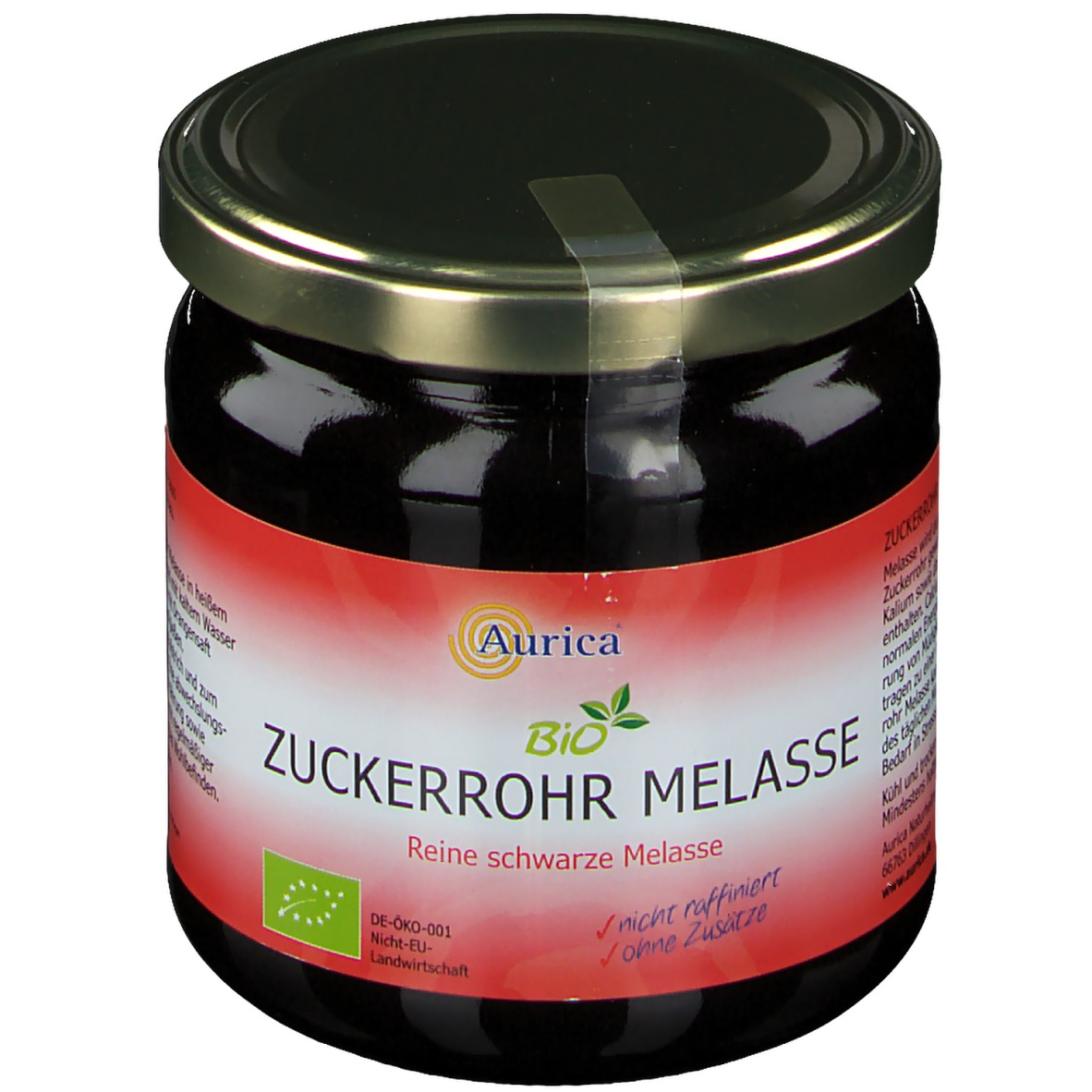 Aurica® Bio Zuckerrohr Melasse