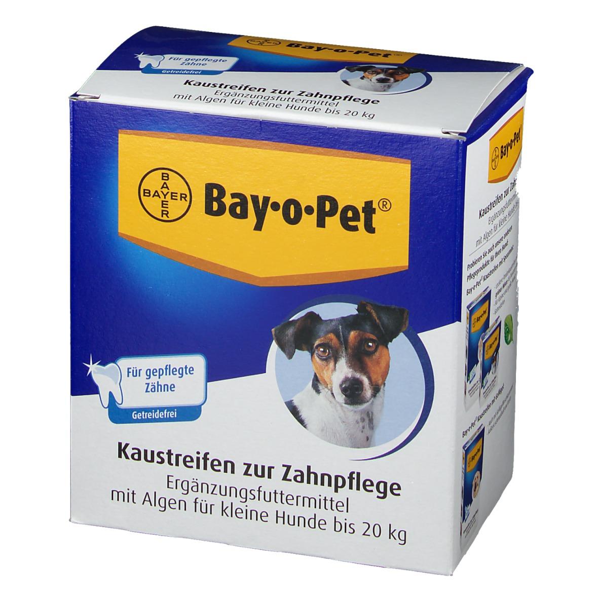 Bay-o-Pet® Zahnpflege Kaustreifen mit Alge für kleine Hunde