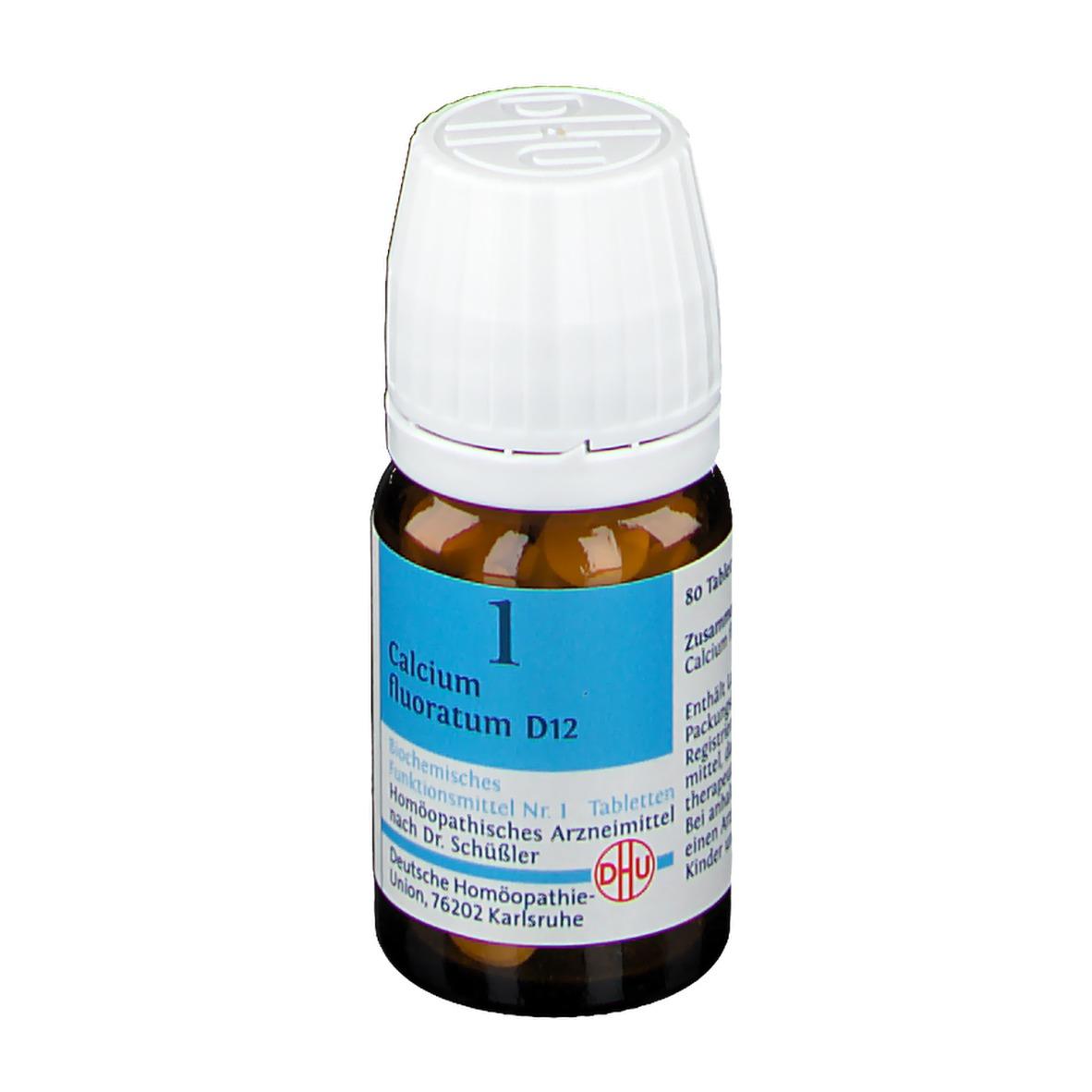 DHU Biochemie 1 Calcium fluoratum D 12