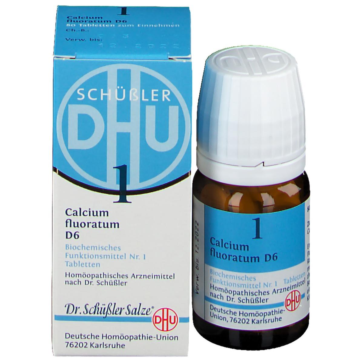 DHU Biochemie 1 Calcium fluoratum D6