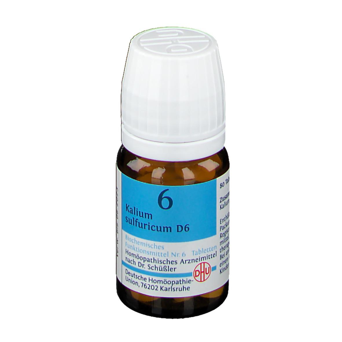 DHU Biochemie 6 Kalium sulfuricum D6
