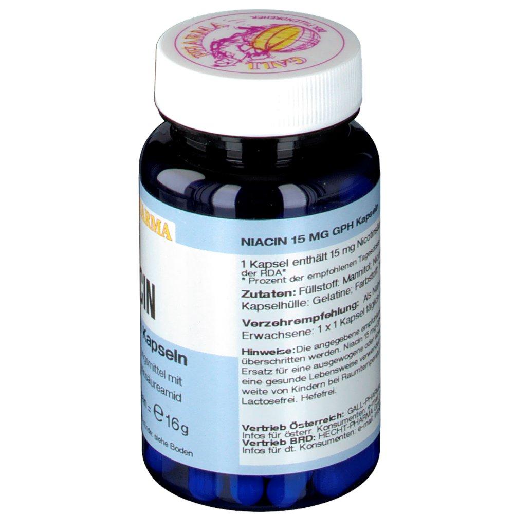 GALL PHARMA Niacin 15 mg GPH Kapseln