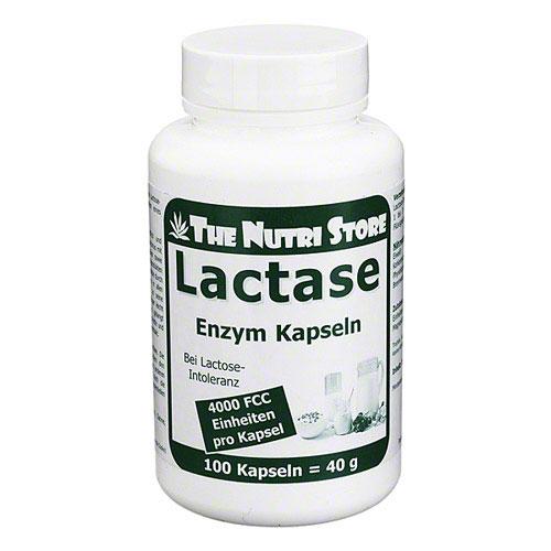 Lactase 4000 FCC Enzym Kapseln
