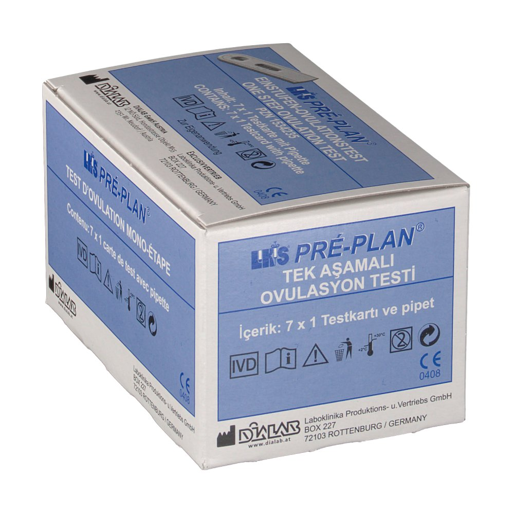 LKS® LH Ovulationstest Pré-Plan®