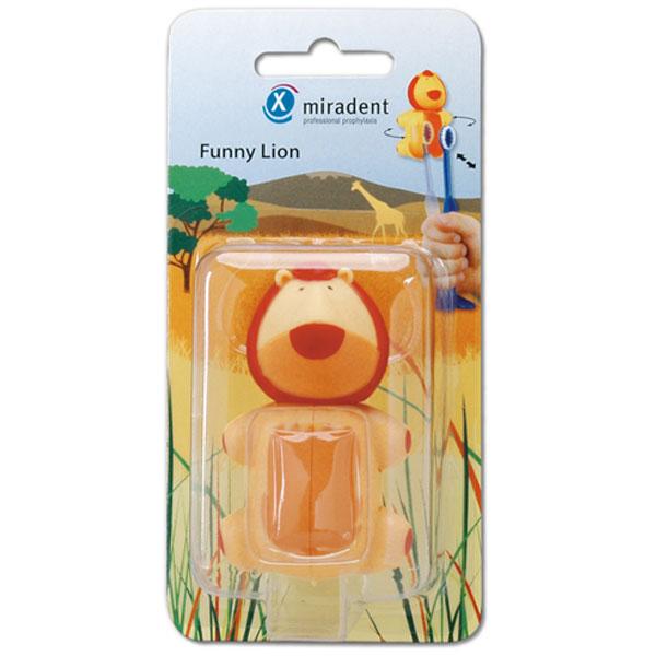 miradent Funny Snap Animals Löwe