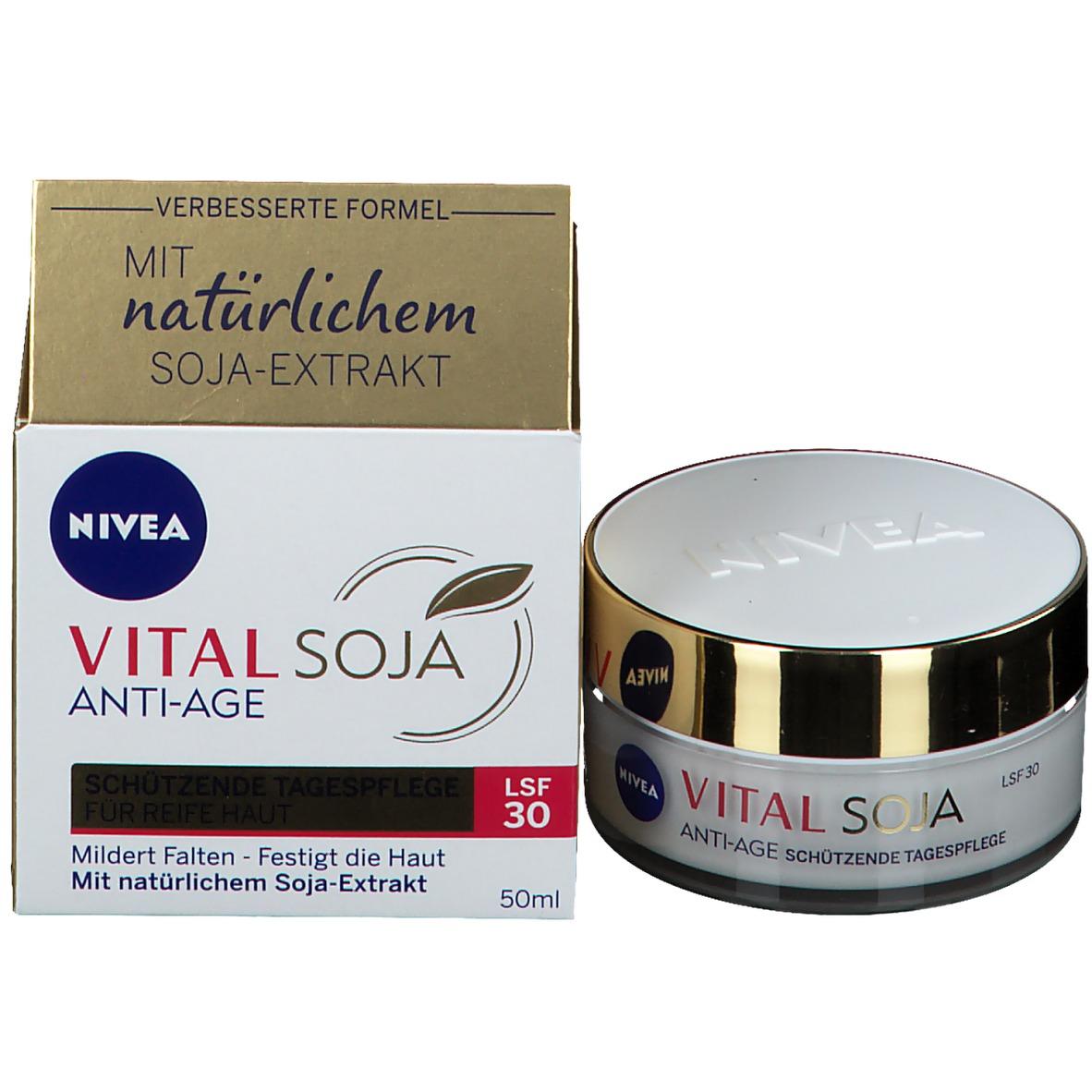 NIVEA® VITAL Soja Anti Age Schützende Tagespflege LSF 30..