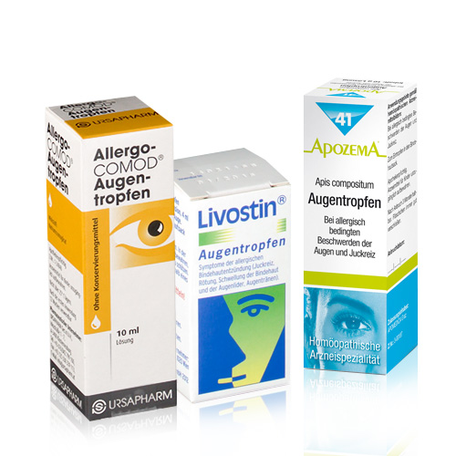 Allergische Bindehautentzündung - shop-apotheke.at
