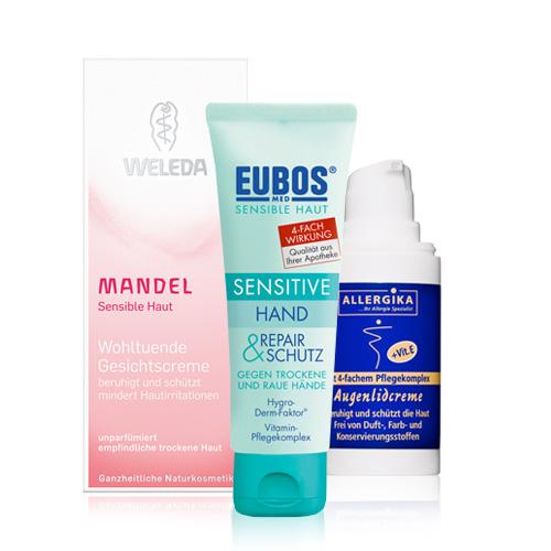 Empfindliche & allergische Haut - shop-apotheke.at