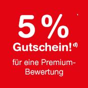 Premium-Bewertung schreiben und 5% Gutschein bei shop-apotheke.at erhalten.